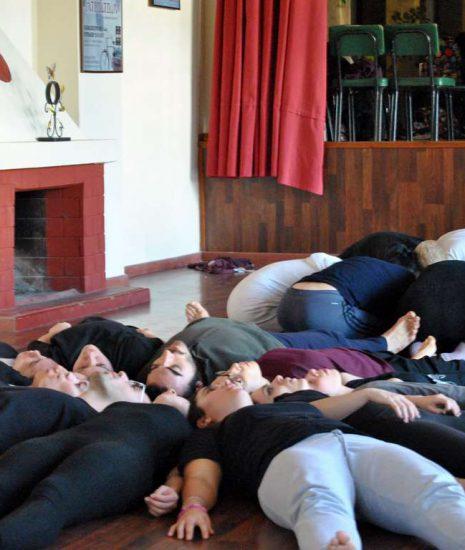 Astràgali Teatro Workshop with artists