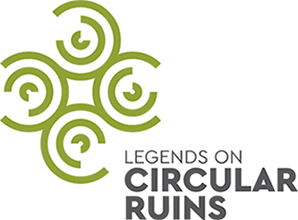 Legends on circular ruins - logo