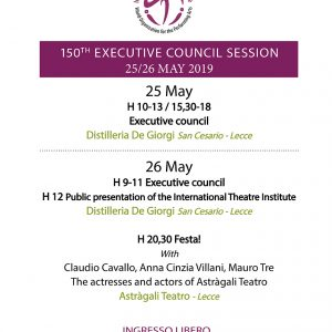 International Theatre Institute: 150th Executive Council Session