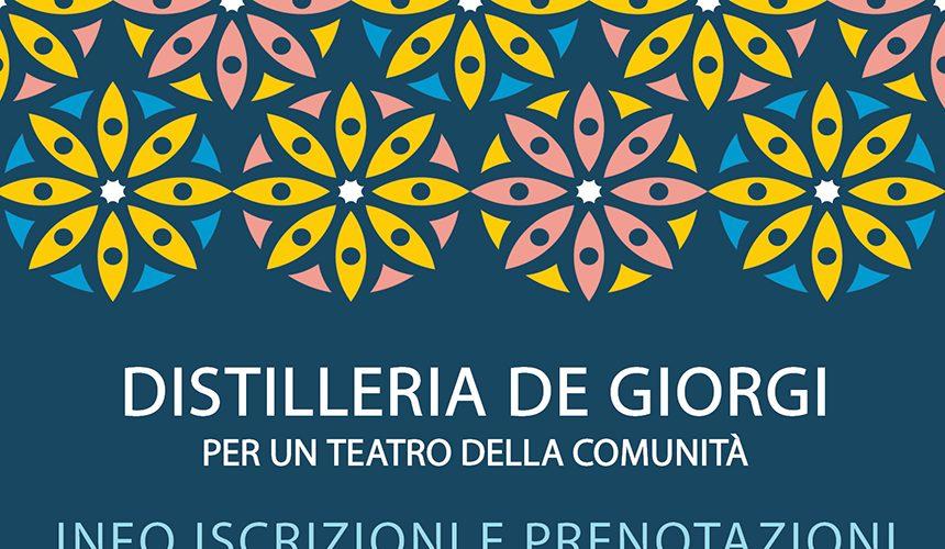 Calendario Distilleria De Giorgi ottobre/dicembre 2019