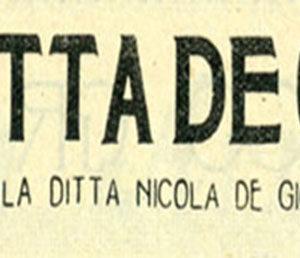 Distillato di storia nel centenario dell'Anisetta De Giorgi