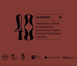 """""""Materiali, materie"""": terzo talk online per il progetto Leandro 40"""
